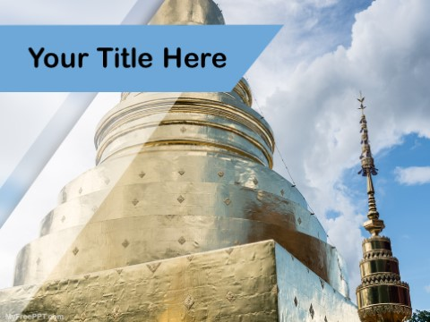 Free Chiang Mai PPT Template