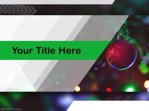 Free Christmas Night PPT Template