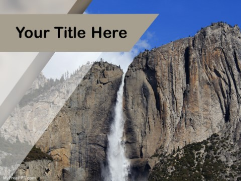 Free Cliff PPT Template