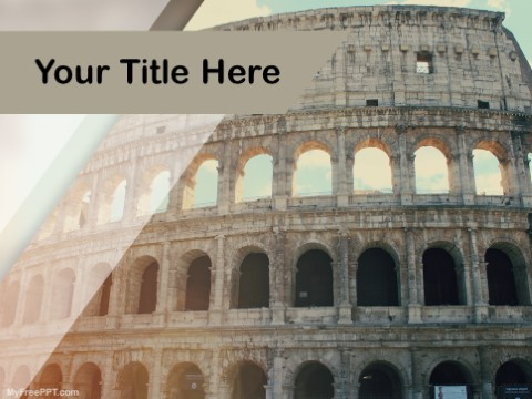 Free Colosseum PPT Template