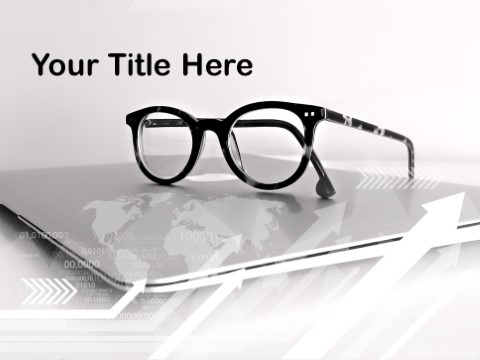 Free Computer Eye Wear PPT Template