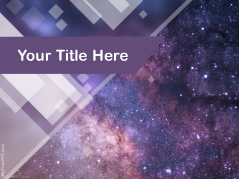 Free Cosmos PPT Template