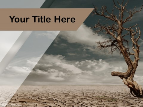 Free Drought PPT Template