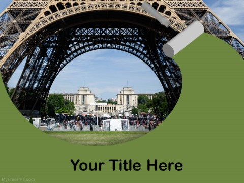 Free Eiffel Tower PPT Template