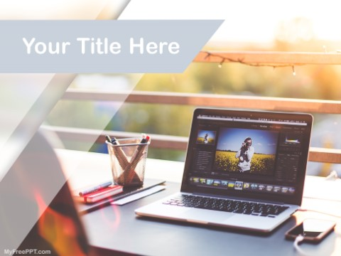 Free Freelance Photography PPT Template