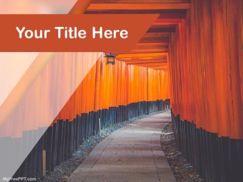 Free Fushimi Inari Taisha PPT Template