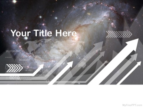 Free Galaxy PPT Template