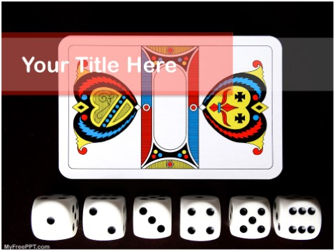 Free Gambling PPT Template