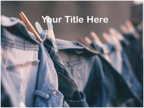 Free Jeans PPT Template