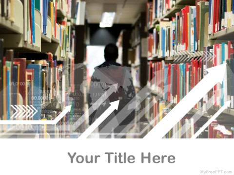 Free Library PPT Template