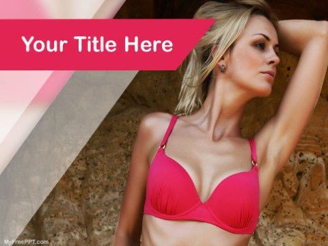 Free Lingerie PPT Template