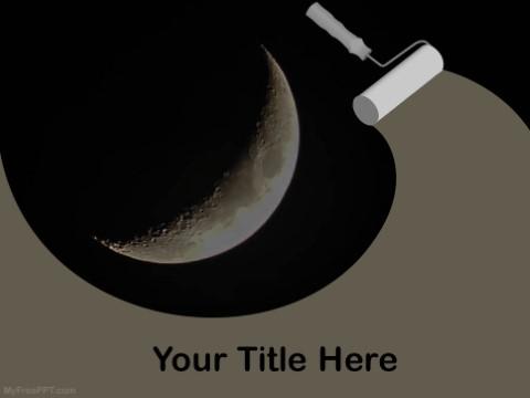 Free Lunar PPT Template