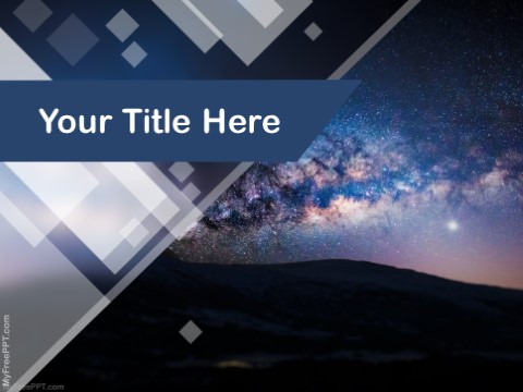 Free Milky Way PPT Template