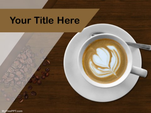 Free Mocha Coffee PPT Template