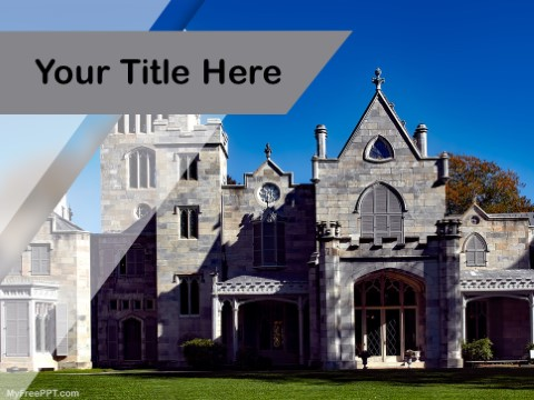 Free Monastery PPT Template
