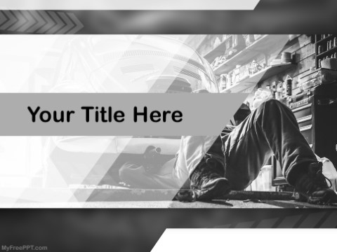Free Motor Mechanic PPT Template