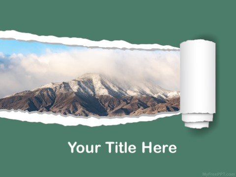 Free Mountain PPT Template