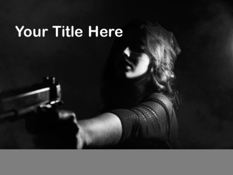 Free Murder PPT Template