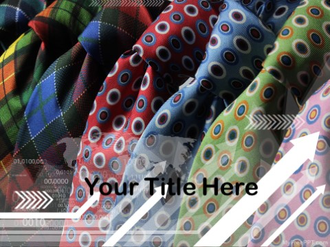 Free Neck Tie PPT Template