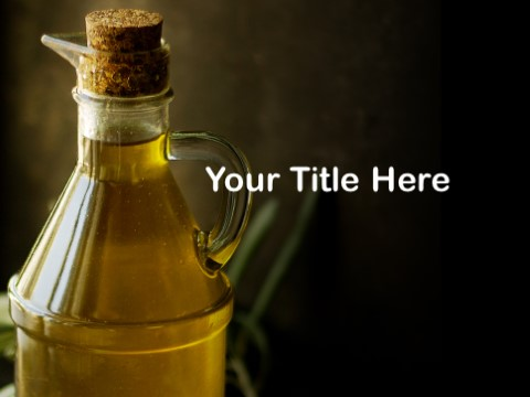 Free Olive Oil PPT Template - Download Free PowerPoint PPT