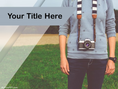 Free Photography Career PPT Template