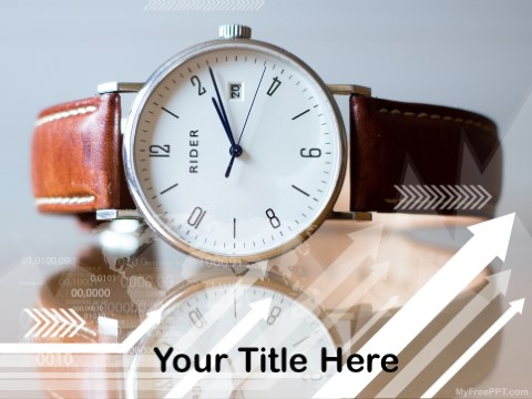 Free Quartz Watch PPT Template