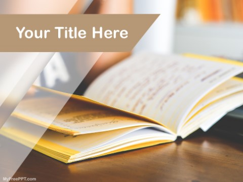Free Reading PPT Template
