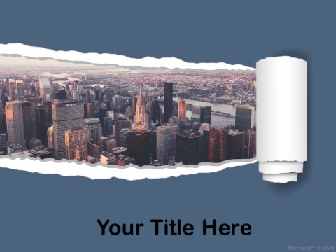 Free Real Estate Business PPT Template