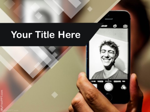 Free Self Photography PPT Template
