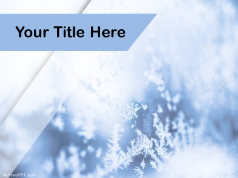 Free Snowflakes PPT Template