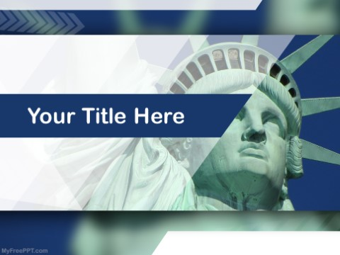 Free Statue Of Liberty PPT Template