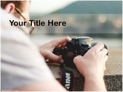 Free Stock Photo Business PPT Template