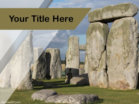Free Stonehenge PPT Template