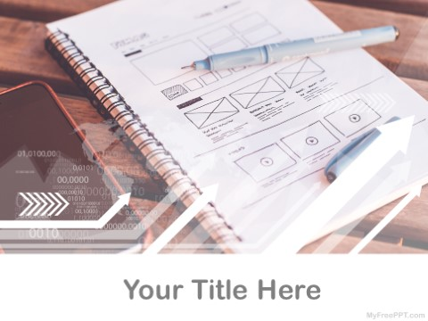 Free Wireframe PPT Template