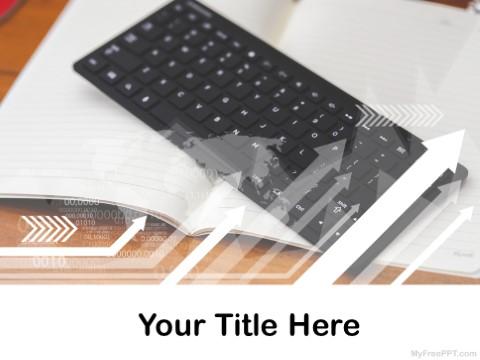 Free Wireless Keyboard PPT Template