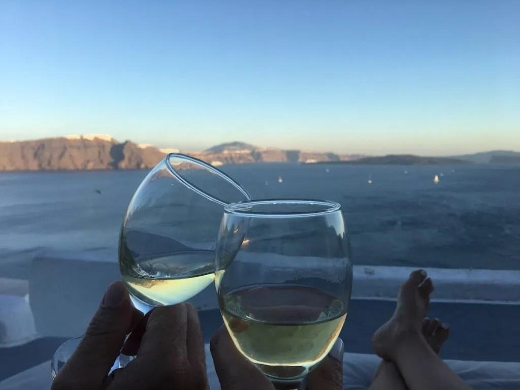 Santorini - Zoe Aegeas view