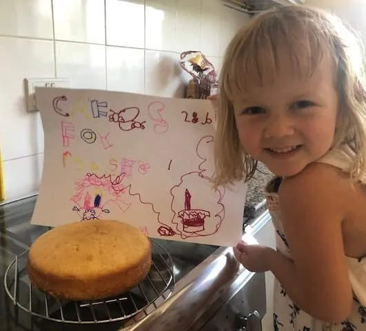 kids cooking, baking lessons for children