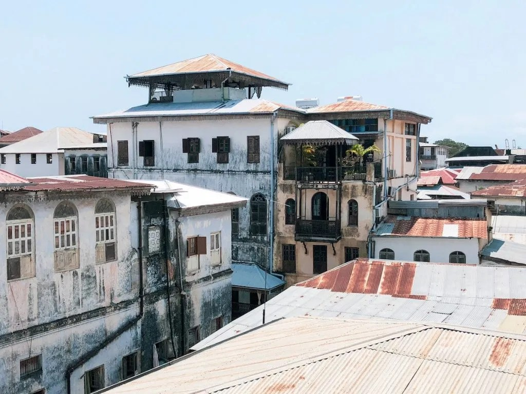 Stone town view