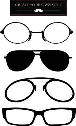 Mustache-Cut your glasses