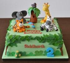 Jungle - Birthday cake