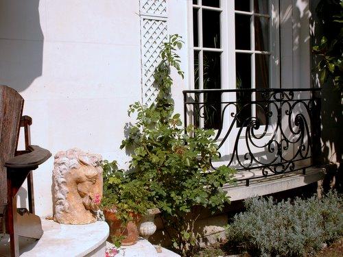 Joanne's garden in Tours 4