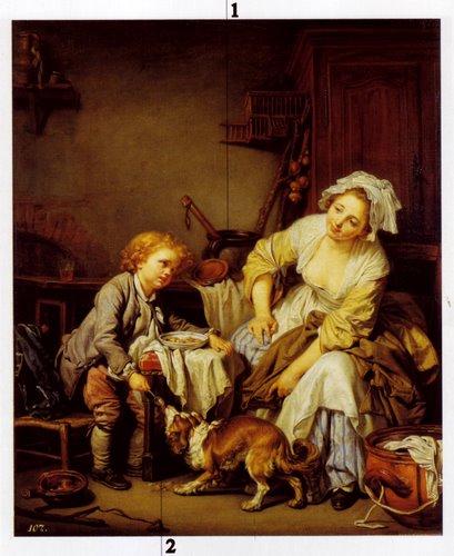 L'enfant gaté -Jean Baptise Creuze(1765)