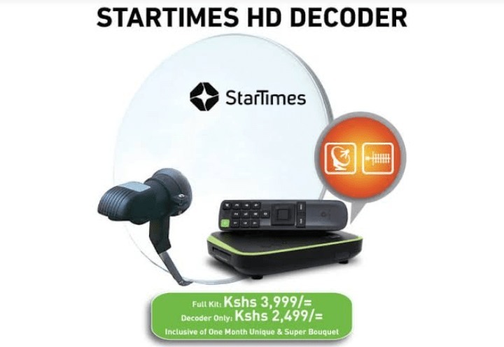 How to reset StarTimes decoder after payment