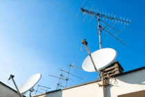 How to align a satellite dish