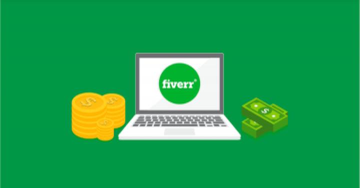 Pocket money from fiverr