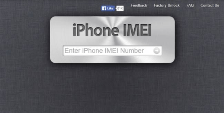 Using an online IMEI checker