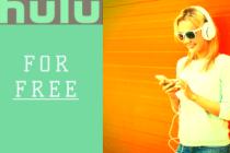 Get hulu for free