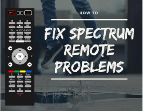 Spectrum remote not working