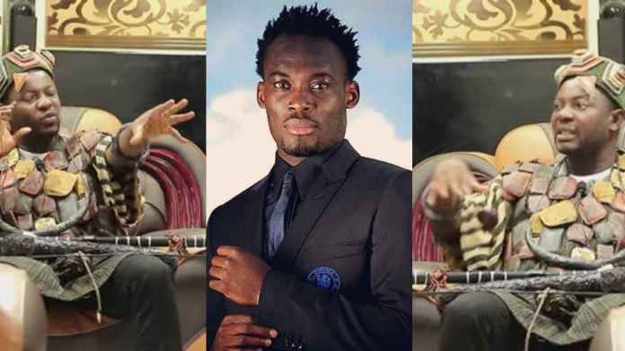'He promised me and failed to deliver' – Spiritualist claims he caused Michael Essien's 'downfall [Watch video]