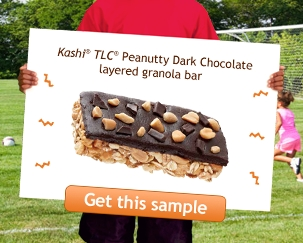 Free Kashi Sample Chocolate Granola Bar or Cereal My